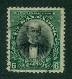 El Salvador 1912 #405 U SCV (2020) = $0.25
