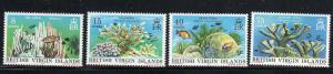 VIRGIN ISLANDS #333-336  1978  CORALS   MINT VF NH O.G