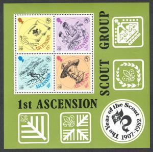 Ascension Boy Scouts Movement MS SG#MS313 SC#304a