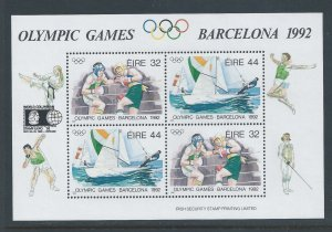 Ireland #855a NH Summer Olympic Games Barcelona '92 SS wi...