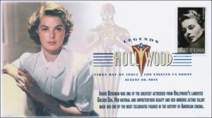 2015, Ingrid Begrman DCP, FDC, Legends of Hollywood, 15-196