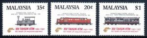 Malaysia - Scott #301-303 - MNH - SCV $9.35
