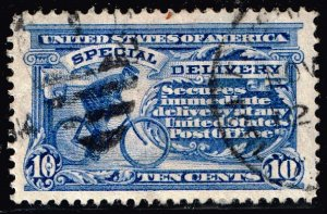 US STAMP #E6 10c Special Delivery 1902 Used stamp