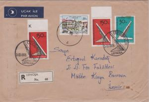 Cyprus Turkish Republic of Northern Cyprus 30m and 150m (2) Liberation Monume...