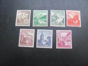 GERMANY 1938 MNH SC# B123/131  LOT (115)