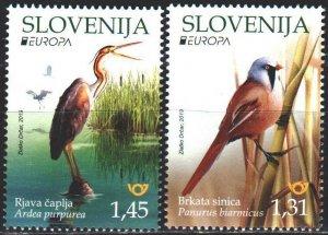 Slovenia. 2019. Birds, Europe-Sept. MNH.
