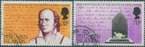 Pitcairn Islands 1979 SG194-195 John Adams death set FU