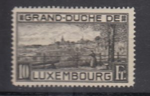 J25726 JLstamps 1923 luxembourg mh #252 view