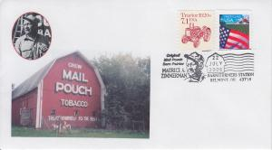 2006 Barn Painter Maurice Zimmerman Mail Pouch Belmont OH 2