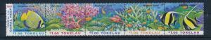 [35277] Tokelau 1997 Marine Life Coral Fish MNH
