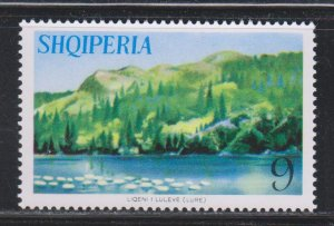Albania,  9 l Lake and Hills (SC# 806) MNH
