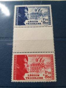 France 1942 Pour la Légion tricolore Catelogue € 60