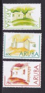Aruba   #225-227  MNH   2003  various houses