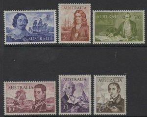 AUSTRALIA SG355/60 1963-5 NAVIGATORS MNH