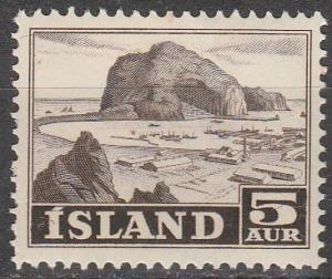 Iceland #257 MNH F-VF  (S64)