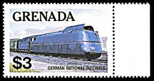 Grenada 1125, MNH, German National Railways