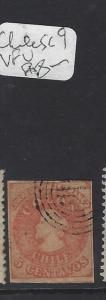 CHILE   (PP1601B)  COLUMBUS 5C  SC  9   VFU
