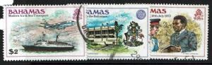 Bahamas SC# 477-479, Used, Minor Creasing - Lot 021217