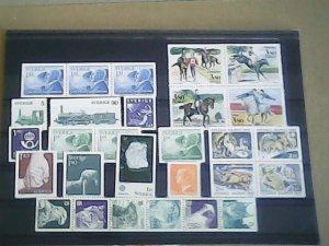 Sweden  MNH   nice lot of stamps