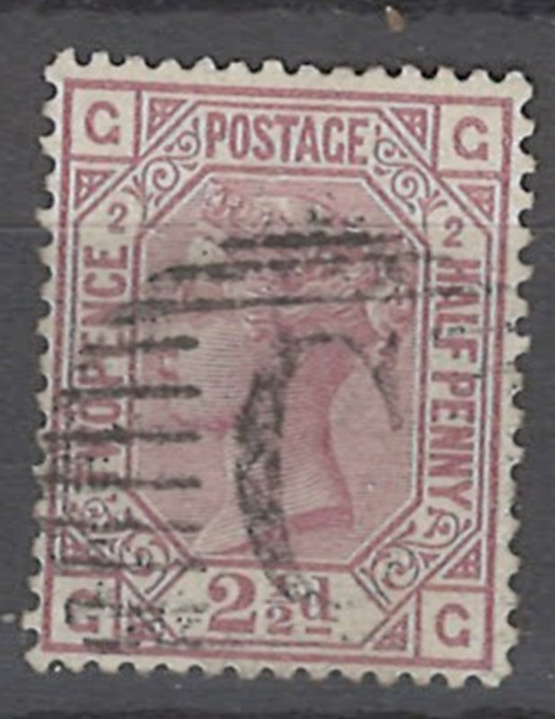 COLLECTION LOT OF # 1920 GREAT BRITAIN #66 pt 2 1875 CV=$90