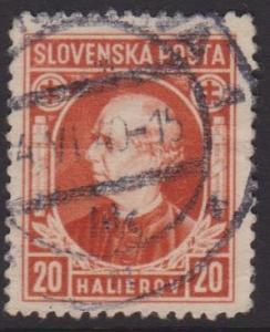Slovakia Sc#28 Used