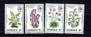 Jersey 61-64 MNH 1972 Flowers