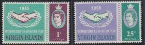 Virgin Islands 161-162 MNH (1965)
