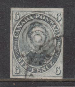 Canada #5 Used With Light Cancel **With Certificate**