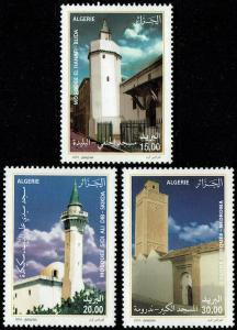 Algeria #1506-08  MNH - Mosques (2010)