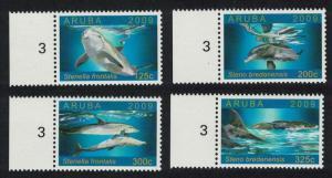 Aruba Dolphins 4v SG#448-451