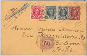 BELGIUM -  POSTAL HISTORY -  POSTAL STATIONERY CARD - TAXED segnatasse 1926