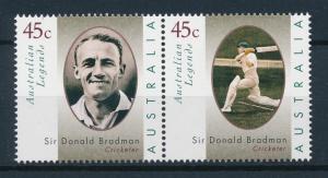 [73552] Australia 1997 Sport Legends Cricket Sir Donald Breadman  MNH