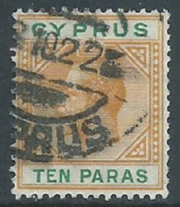 Cyprus, Sc #72, 10pa Used