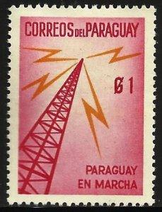 Paraguay 1961 Scott# 579 MH