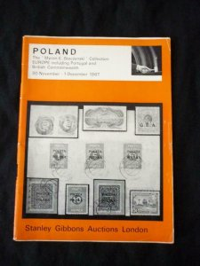 GIBBONS AUCTION CATALOGUE 1967 POLAND 'MYRON E STECZYNSKI' COLLECTION