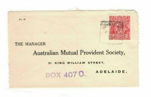APH1469) Australia 1932 2d Red KGV Die I Small Cover