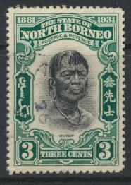 North Borneo  SG 295 SC# 185 Used     See scan