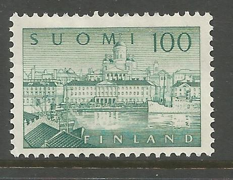 FINLAND  357 MINT HINGED, SOUTH HARBOR, HELSINKI