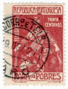 (I.B) Portugal Telegraphs : Surtax 30c