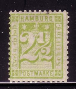 * Hamburg Sc. # 23 MH    (MNH CV $110.00)