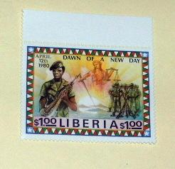 Liberia - 896, MNH. Soldiers, Sgt, Doe. SCV - $3.50
