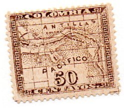 COLOMBIA 13 MH SCV $3.00 BIN $1.50 GEOGRAPHY