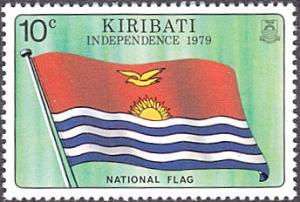 Kiribati # 325 mnh ~ 10¢ Kiribati Flag