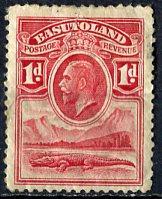 Basutoland; 1933: Sc. # 2; O/Used Single Stamp