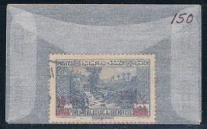 Lebanon 150 Used Dog River Panorama 1937 (L0131)