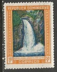 Dominican Republic 427 VFU FALLS 1034C-2