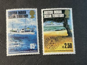 BR.INDIAN OCEAN TERRITORY # 57-58--MINT NEVER/HINGED----COMPLETE SET----1974
