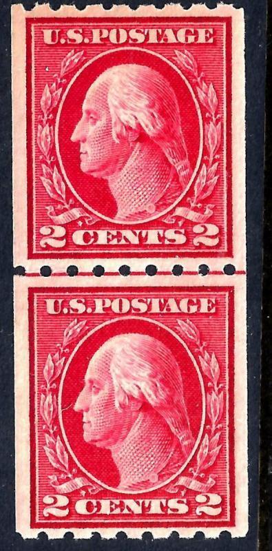 U.S. 411 VF MNH JL PAIR (0424)