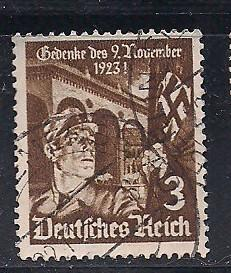 Germ. Sc 467  10th. Anny of the Beer Hall Putsch Used L4