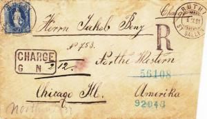 1891, Ruthi, Switzerland to Chicago, IL, Registered, See Remark (3290)